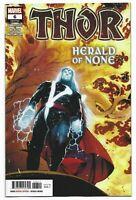 Thor #6 cover A Cates Marvel Comics 1st Print 2020 unread NM