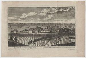 Lichtenau (bei Ansbach) : Kupferstich bei Christoph Melchior Roth, um 1760
