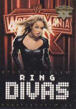 STACY KEIBLER 2004 Fleer WWE RING DIVAS WRESTLEMANIA XX GOLD PARALLEL Card  #62