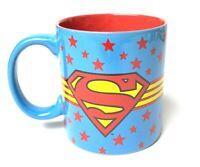Superman DC Comics Large Ceramic Coffee Mug 20 oz Cup Collector Comic Book