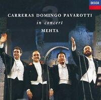 Carreras · Domingo · Pavarotti: The Three Tenors in Concert / Mehta -  - EACH CD