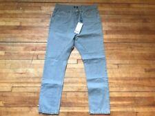 Jeans verts coton pour homme