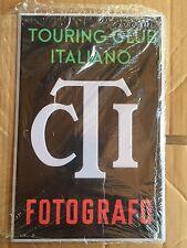 """TARGA IN LATTA """" TOURING CLUB ITALIANO FOTOGRAFO """" HACHETTE"""
