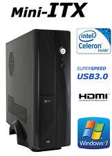 Windows 7 Mini PC Intel Dual 2,48GHz 4GB HDMI Computer ITX Rechner LPT Parallel