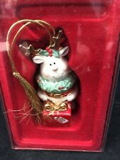 "Lenox ""For My Deer"" Christmas Ornament with Original Box Mint"