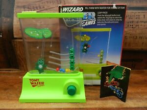 Tomy Wizard Water Games Leap Frog Boxed