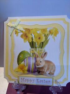 Beautiful Handmade Easter Card Topper