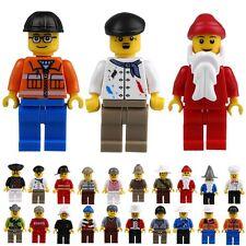 Assortiment 5 x Hommes Mini Figures professionnels Travailleur minifigs Toy s'adapte