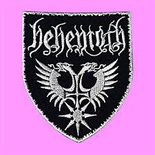 Behemoth Black Metal Death Horror Punk Rock Music Embroidered Iron On Patch