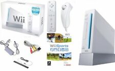White Nintendo Wii Console BOXED inc Remote & Nunchuck + Wii Sports Game - VGC