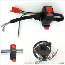 "Universal 12V 7/8""Motorcycle Handlebar Control Switch Ignition Kill Start Switch"