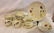 LOT OF 12 Franciscan AUTUMN DISHES , CUPS ,SAUCERS AND MORE