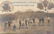 9143) PIANA DEI GRECI (PALERMO) ACCAMPAMENTO UFFICIALI DEL 9 BERSAGLIERI.