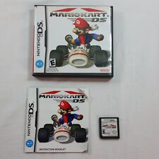 Mariokart Nintendo DS Game Wifi Connection Booklet and Case Included Good Cond