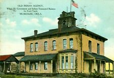Muskogee, OK The Old Indian Agency 1909