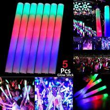 Glow Stick Foam LED Light Rave Baton Party Flashing Glow In The Dark 20/30/50pcs