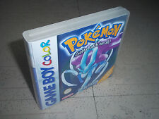 1X Replacement Gameboy Colour Pokemon Crystal Version Box .Pal Empty GBC case