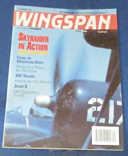 WINGSPAN MAGAZINE APRIL 1995 - SKYRAIDER IN ACTION