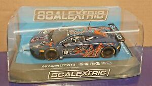 Scalextric C3850 McLaren 12C GT3 2013 Monza Von Ryan Racing No.88 NEW