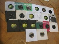 THE BEATLES Interest Job Lot 20 Vintage 45rpm Singles Records