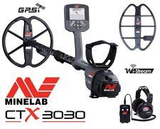Minelab ctx-3030 GPS sonda in METALLO METAL DETECTOR + GRATIS 42cm profondità bobina di ricerca