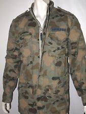 Buffalo David Bitton jirmy snap button military jacket size large NWT