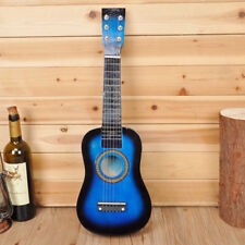 "21"" Kids Acoustic Guitar Wooden Beginners 6 String Children Toys Gift Practice"
