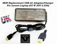 FOR LENOVO LAPTOP CHARGER IDEAPAD G50-30 AC ADAPTER USB CHARGER 65W, 20V, 3.25