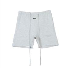 INS Niebla Essentials temor de Dios Pantalones Cortos bordado con el logotipo tiras reflectantes &