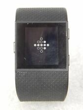FITBIT SURGE FITNESS WATCH HEART RATE MONITOR BLACK LARGE FB501 (44633)