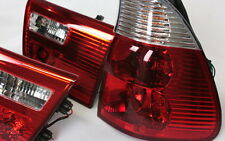 KLARGLAS RÜCKLEUCHTEN HECKLEUCHTEN SET BMW E53 X5 99-03 ROT KLAR RED CRYSTAL NEU