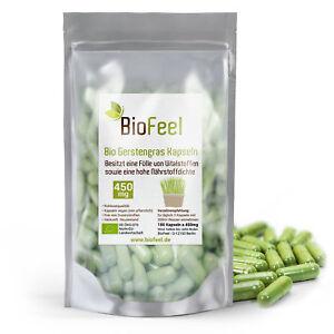 BioFeel -  Bio Gerstengras Kapseln, 180 Stk., 450mg