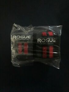 """24"""" Rogue Fitness Wrist Wraps Black/ Red"""