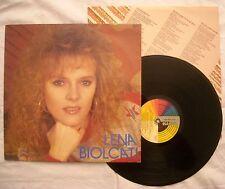 LENA BIOLCATI - OMONIMO - ANNO 1986  - CGD 20505 - EX+