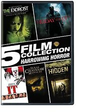 5 HORRORS : EXORCIST / FRIDAY THE 13TH / TEXAS CHAINSAW MASSACRE+  STEPHEN KING