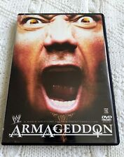 WWE -  ARMAGEDDON – DVD, REGION-1, LIKE NEW, FREE SHIPPING WITHIN AUSTRALIA