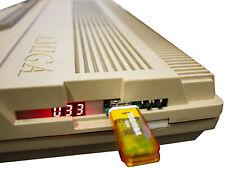 USB Amiga 500 Floppy Drive Emulator (LED version) w/ internal mount - Aus Stock!