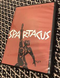 SPARTACUS - Criterion Collection DVD - Stanley Kubrick - Kirk Douglas