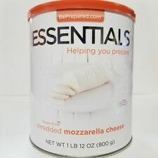 Emergency Essentials Freeze Dried Food Shredded Mozzarella Cheese #10 Can