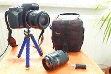 Sony Alpha A230 l 2x Objekiv l EXTRAS l DSLR Spiegelreflex Kamera 10MP l4