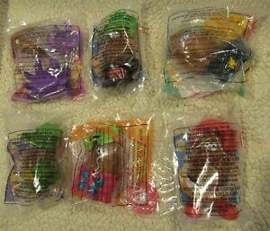 McDonald's 1996 McNugget Buddies Halloween Sealed New Complete set 6