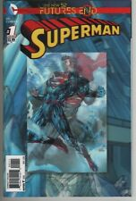 Superman New 52 Futures End #1 3D Lenticular motion cover comic book Near Mint