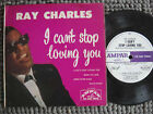 """(1829) Australia RAY CHARLES """"I Can't Stop Loving You"""" Ampar 7"""" EP"""