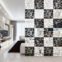 4/8/12pcs DIY Hanging Screen Room Divider ABS Decorative Screens Wall Art Panel