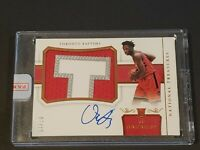 2017 National Treasures OG Anunoby Auto RC /25 SICK RPA Rookie Autograph SEALED!