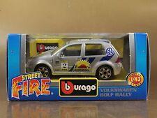 [PI3-47] BBURAGO BURAGO 1/43 STREET FIRE VOLKSWAGEN GOLF RALLY N.2 NIB