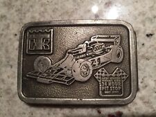 Vintage Thermo King Race car 24 hour pit stop belt buckle - VGC
