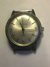 Vintage Caravelle Mechanical Hand Winding Men's  Water Resistant Watch