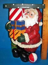 Safari Wildlife Collection Santa W/Packages Christmas Plant Or Display Stand ACS