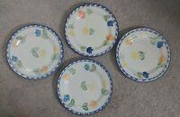 "Vintage Montgomery Ward Salad Plate- Tulip Pattern- 7.5"""